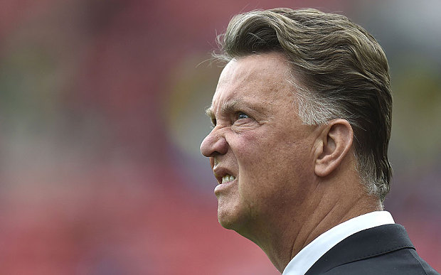 Manchester United 's former manager, Louis Van Gaal