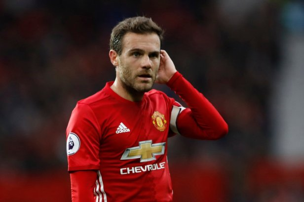 Manchester United stand-in captain Juan Mata